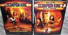 THE SCORPION KING 1 & 2 [One,Two] The Rock*Randy Couture Fantasy Action DVD *EXC
