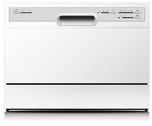 Tischgeschirrspüler PKM weiß kleine Spülmaschine Mini Geschirrspülmaschine NEU