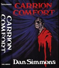 Carrion Comfort by Dan Simmons (Hyperion) Hardcover 1st Dark Havest 1989 SIGNED