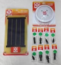 Rechargeable lumière solaire & panneau kit-idéal pour le camping, festival-cabane de jardin