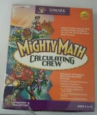 Mighty Math Calculating Crew     Ages 8 to 12   Win Mac