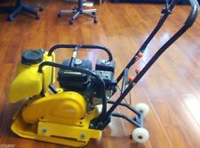6.5HP GAS POWER HD PLATE COMPACTOR TAMPER RAMMER -W/ WATER TANK
