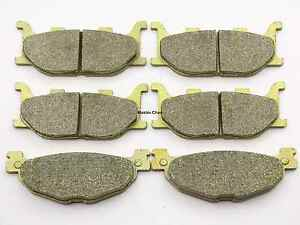 Front Rear Brake Pads For Yamaha YP 400 YP400 Majesty 2005 06 07 2008 2009 2010