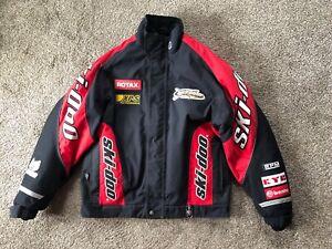 Ski-Doo Bombardier DuPont Thermolite Plus Racing Black & Red Jacket Men's Medium