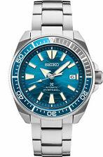 New Seiko Automatic Prospex Samurai Blue Wave Divers 200M Men's Watch SRPD23