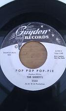 """THE SHERRYS Pop Pop Pop - Pie 7"""" RARE NOT FOR SALE PROMO Soul Funk Guyden"""