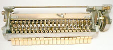 1939 Mills * Throne Of Music : working Button Rack & Button Rack Gear Train