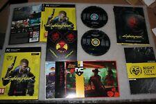 Cyberpunk 2077 PC BOX + STICKERS + 2CD SOUNTRACK + MAP + POSTCARDS