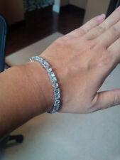 Unique Designer Baguette and Round Diamond  Bracelet - 4.0 carats