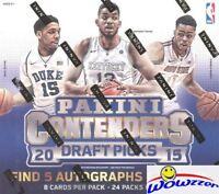 2015/16 Panini Contenders Draft Picks Basketball Factory Sealed HOBBY Box-5 AUTO