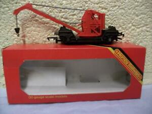 Crane Wagon Hornby No R.127 '00' Gauge Die Cast Chassis, Boxed, Looks Unused