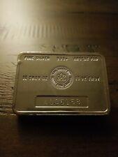 * Vintage RCM Royal Canadian Mint 10 oz 999 Silver Bar ~ Scarce *