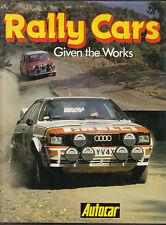 Rally Cars Given The Works Spitfire Imp Cooper Escort Fulvia Stratos Quattro BMC