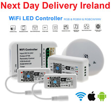 Smart WiFi LED RGB RGBW Light Strip Music Phone Controller For Alexa Google Home