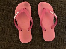 My Well Worn Havaiana Thongs Flip Flops Shoes Ladies Women's Pink Sz 35-36 Shoe