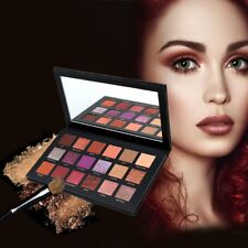 18 Colors Matte Glitter Shimmer Natural Cream Eyeshadow Palette Pigment Makeup