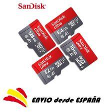 100% original Sandisk clase10 tarjeta microsd micro SD tf  16gb 32gb 64gb 128gb