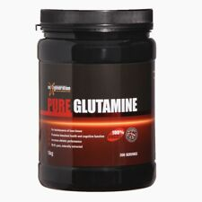 1kg  MICRONISED PURE GLUTAMINE// HIGHEST QUALITY NO FILLERS