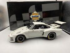 1/18 Exoto 1976 Porsche 935 White RARE RLG18100