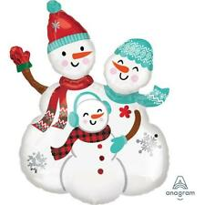 Snow Family Supershape Foil Balloon