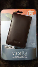 Griffin 9329-5GLRM30 Vizor Leather Case for 30GB iPod Video (Red Mahogany)