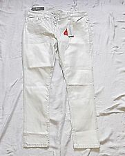 SOUTH EST 1932 18 REG WHITE SHIMMERY SKINNY JEANS CLUBBING HOLIDAY EVENING CHIC
