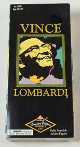 Vince Lombardi Pro Football 1998 Action Figure Doll ~ Man Cave LE 7400 pieces