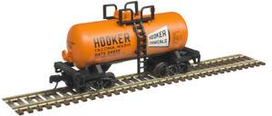 Atlas N Scale 28' Beer Can Shorty Tank Car Hooker Chemical/GATX #24922