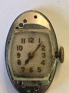 Waltham 550 Lady's wrist Watch Runnng 17 Jewels Non Shock case base metal