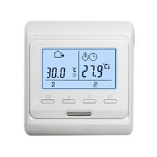 LCD Weekly 230V Programmable Electrical Heating Air Thermostat Floor Controller