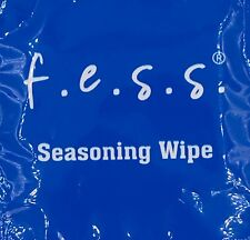 4 PK Fess Seasoning Wipes for Use With All Cedar Wood Lids and trays Humidors