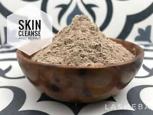 Pure Rhassoul Ghassoul Moroccan Lava Clay Powder with Sea Silt Skin Mask Detox