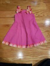 Bonnie Jean Girls ribbon dress pink size 4t girls pretty in pink