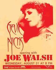 Stevie Nicks 1988 Vintage Concert Poster Fleetwood Mac Joe Walsh