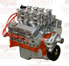 Small Block Chevy 383 CI, 475 HP Crate Engine with Hilborn Style Fuel Injection