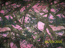 New Pink True Timber Camouflage Fleece Fabric by the yard camo