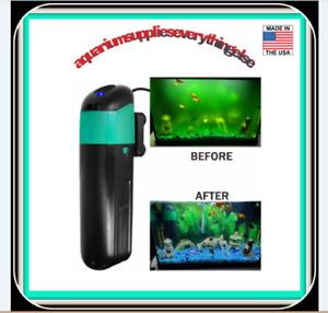 Aquarium Green Water Killer Filter Pump 9W 200GPH for Fish and Plant Tank