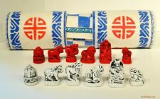 "MONGOLIAN CHESS SET (SHATAR) ROLLED YAK'S WOOL BOARD K=15/8"" (4 cm) (814)"