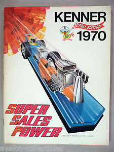 Kenner Toy CATALOG - 1970 ~~ toys ~~ VF/NM condition