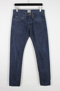 EDWIN RELAXED Men's W31/L34 Blue Slim Fit Button Fly Jeans 34247-GS