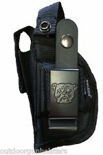 NEW Gun Holster 4 Ruger LC9 (9MM) With Laser/Light Attachment ~ Exta Mag Holder