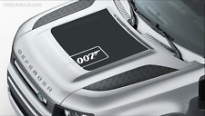 007 JAMES BOND Silver Edition* Land Rover Defender Bonnet Decal NO TIME TO DIE