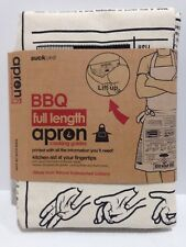 Suck UK BBQ Full Length Apron Cooking Guides