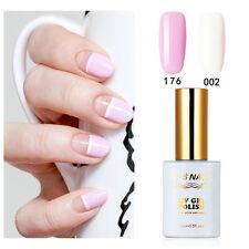 2PCS RS 002_176 Gel Nail Polish UV LED Varnish Soak Off 0.5fl.oze White Pink New