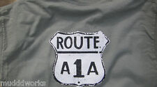 Route A1A T-shirt Parrot Key West,Havana Florida Miami  Parrot island beach
