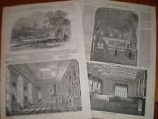 Windsor Castle interior prints article 1847