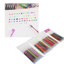 12/24/36/48 Refill For Gel Pens Glitter Coloring Drawing Painting Craft Markers