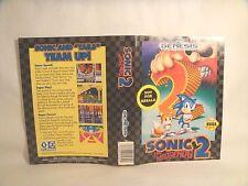 Sonic 2 -Sega art work Only!  *Original art work*