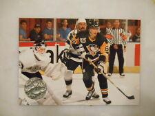1991 NHL Pro Set Jaromir Jagr Pittsburgh Penguins #92 Hockey Card