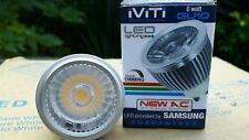 2 X Gu 10 Proyector LED Blanco Cálido 6 W Regulable